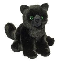 Black Cat Plush Stuffed Animal 12 Inch