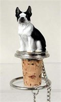 Boston Terrier Bottle Stopper