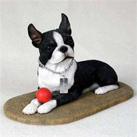 Boston Terrier Figurine My Dog