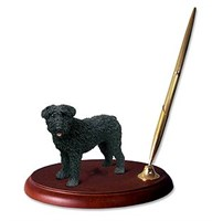 Bouvier des Flandres Pen Holder (Uncropped)