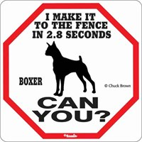 Boxer 2.8 Seconds Sign