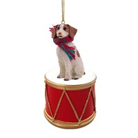 Brittany Little Drummer Christmas Ornament