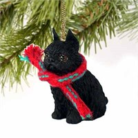 Brussels Griffon Tiny One Christmas Ornament Black