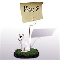 Bull Terrier Note Holder