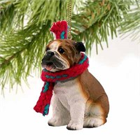 Bulldog Tiny One Christmas Ornament