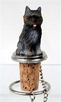 Cairn Terrier Bottle Stopper