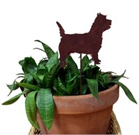 Cairn Terrier Plant Stake