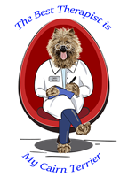 Cairn Terrier T Shirt Best Therapist