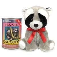 Raccoon Canned Critter