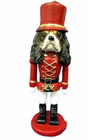 Cavalier King Charles Ornament Nutcracker (Tri)