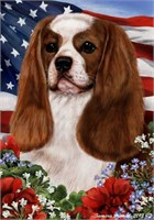 Cavalier King Charles House Flag Blenheim