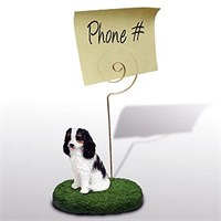 Cavalier King Charles Spaniel Note Holder