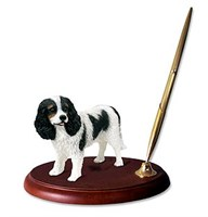 cavalier king charles spaniel pen holder 13968 Cavalier King Charles Spaniel Pen Holder