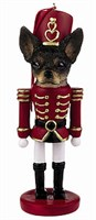 Chihuahua Christmas Ornament Nutcracker