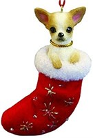 Chihuahua Christmas Ornament Stocking