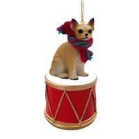Chihuahua Little Drummer Christmas Ornament