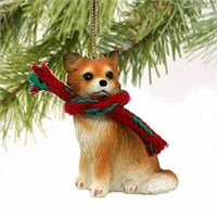 Chihuahua Christmas Ornament Longhaired