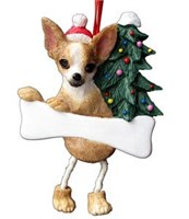 Chihuahua Christmas Ornament Tree Personalized