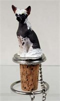 Chinese Crested Bottle Stopper