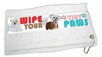 Chinese Crested Paw Wipe Towel