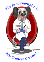 Chinese Crested T Shirt Best Therapist