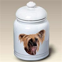 Chinese Crested Treat Jar