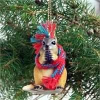 Chipmunk Tiny One Christmas Ornament