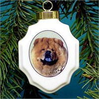 chrisorchowc Christmas Ornament: Chow Chow
