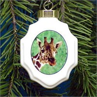 Giraffe Christmas Ornament