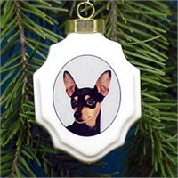 Miniature Pinscher Ornament