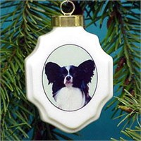 chrisorpap Christmas Ornament: Papillon
