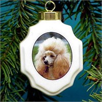 chrisorpood Christmas Ornament: Poodle
