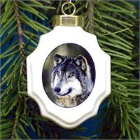 Wolf Ornament