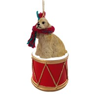 Cocker Spaniel Little Drummer Christmas Ornament
