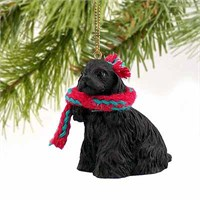 Cocker Spaniel Tiny One Christmas Ornament Black