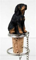 Coonhound Bottle Stopper