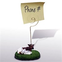 Cow Note Holder (Guernsey Bull)