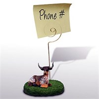 Cow Note Holder