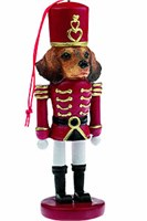 Dachshund Christmas Ornament Nutcracker