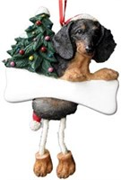 Dachshund Christmas Ornament Tree Personalized