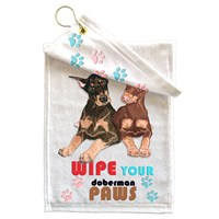 Doberman Pinscher Paw Wipe Towel
