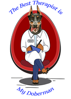 Doberman Pinscher T Shirt Best Therapist