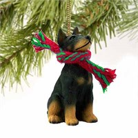 Doberman Pinscher Tiny One Christmas Ornament