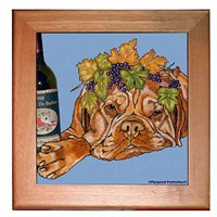 Dogue De Bordeaux Trivet