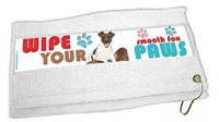 Smooth Fox Terrier Paw Wipe Towel