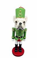 French Bulldog Ornament Nutcracker
