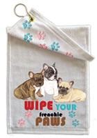 French Bulldog Paw Wipe Towel