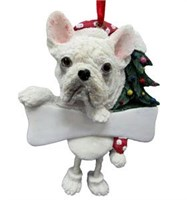 French Bulldog Christmas Tree Ornament Personalized
