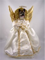 german shepherd christmas tree topper 15045 German Shepherd Angel Christmas Tree Topper
