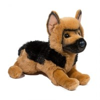 German Shepherd Stuffed Plush Animal